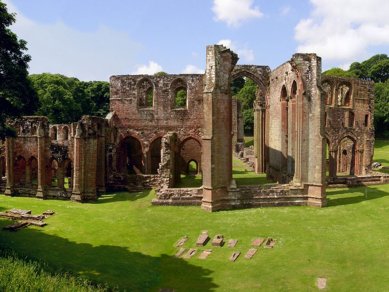 Furness Abbey & Piel Castle